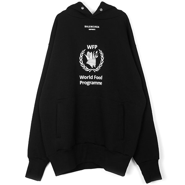 HOODIE/WORLD FOOD PROGRAMME/BLACK