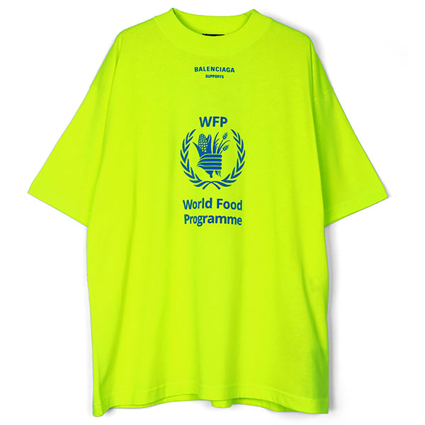 TEE/WORLD FOOD PROGRAMME/FLUO YELLOW