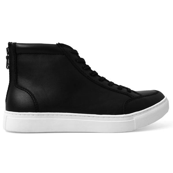 zip HI-cut/black