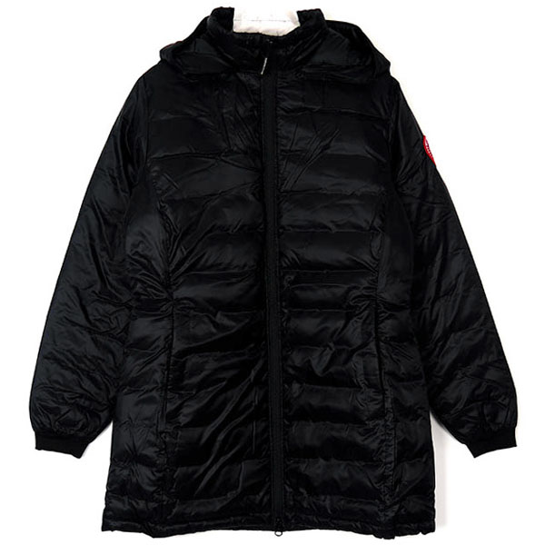 CAMP HOODED JACKET/BLACK