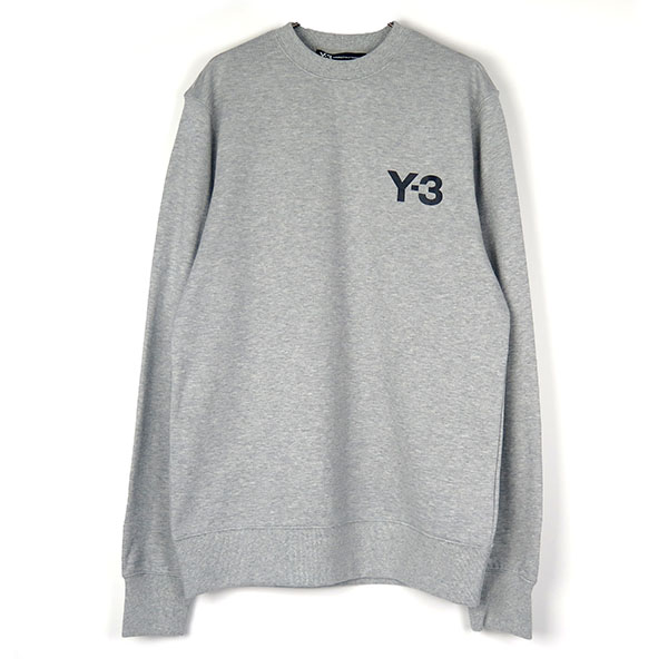 CL SWEAT LOGO FRONT/GRAY