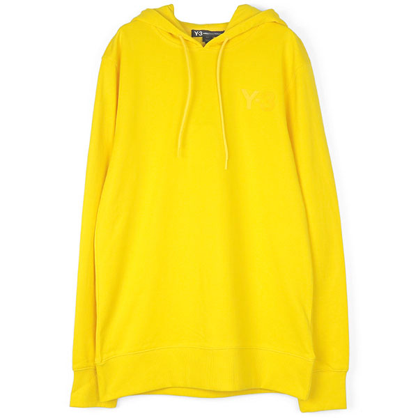 CL HOODIE LOGO FRONT/YELLOW