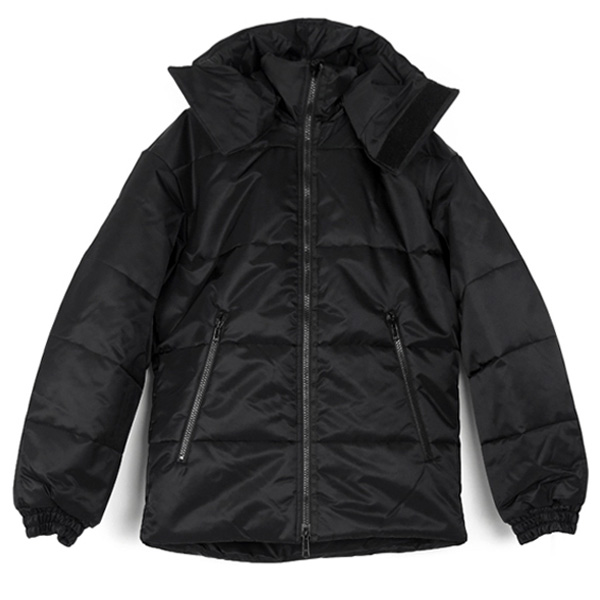 M PADDED JACKET/BK
