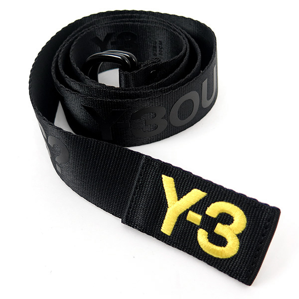 SLOGAN BELT/BLACK