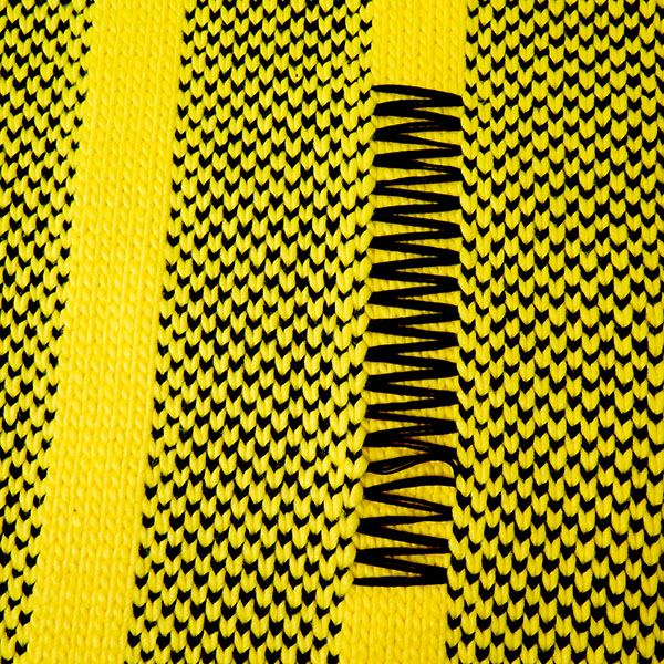 KNIT SCARF/YELLOW
