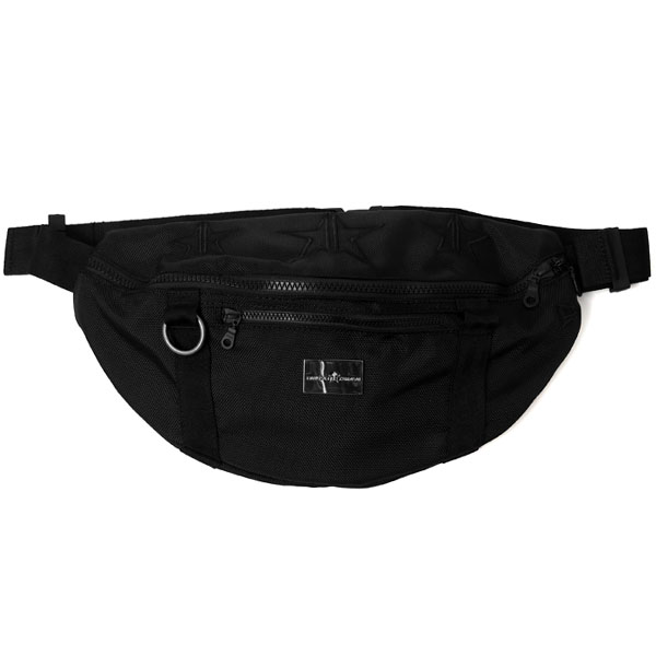 [KAZUYUKI KUMAGAI×NEW ERA]Waist Bag/BLACK