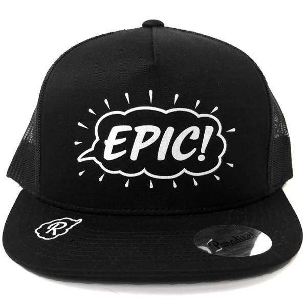 Mesh Cap -EPIC-/black×black