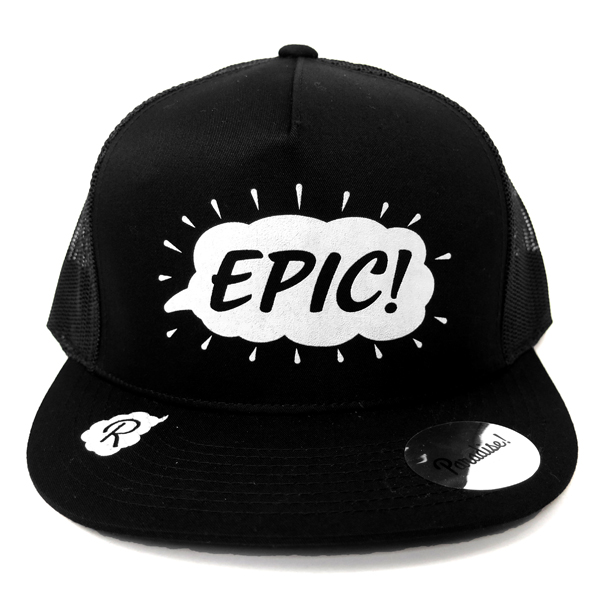 Mesh Cap -EPIC-/black×white