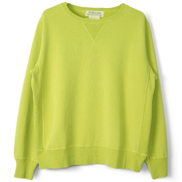 CREW NECK SWEAT/LIME