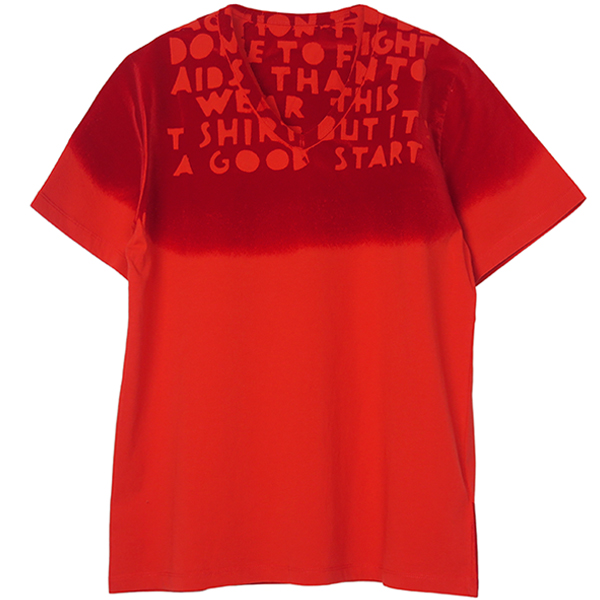 AIDS TEE/RED