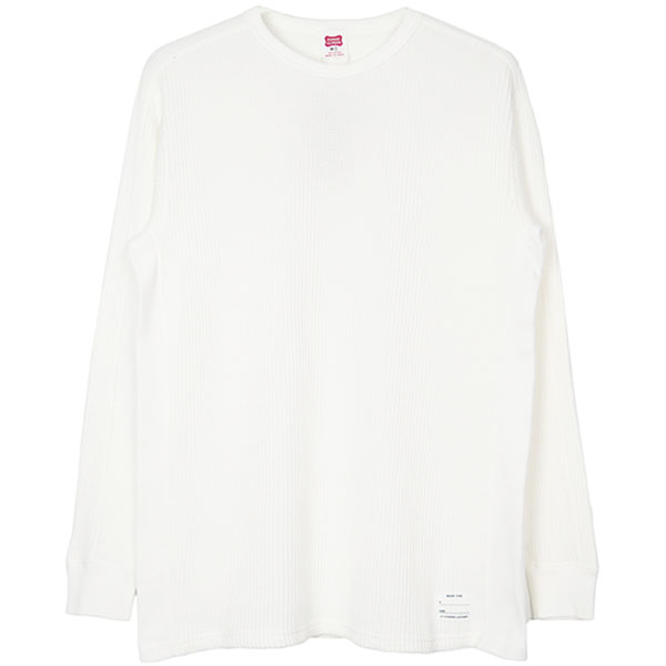 SD Waffle Thermal Long Sleeve Type 2/WHITE