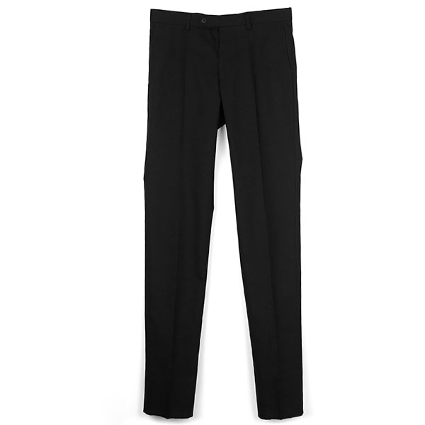 NEW HOPSACK PANTS/BLACK(STRETCH FABRIC)(TSJP-82401-01)