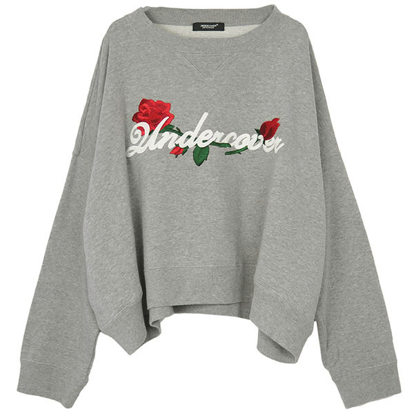 WIDE SWEAT ROSE Undercover em/TOP GRAY