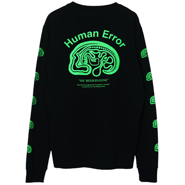 LSTEE BRAIN Human Error/BLACK