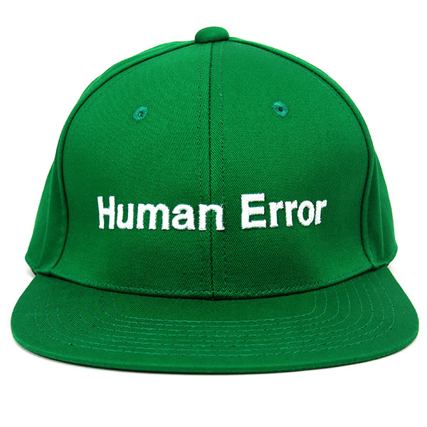 コットンBBCAP Human Error/GREEN