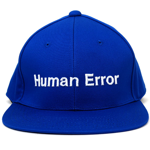 コットンBBCAP Human Error/BLUE