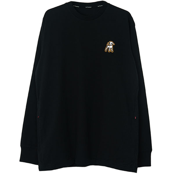 Shepherd PATCH L/S TEE /BLACK