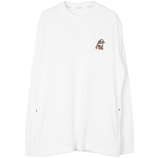 Shepherd PATCH L/S TEE WHITE