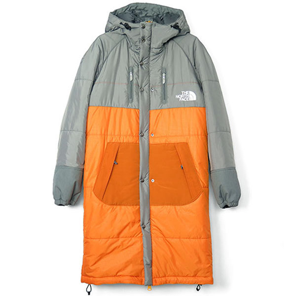 ×THE NORTH FACE SLEEPING BAG COAT/GRAY×ORANGE(WB-C101-051)