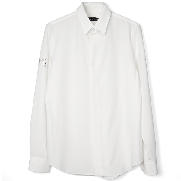 PISTOL SC DRESS SHIRT/OFF WHITE×CRYSTAL(18FGS-06B)
