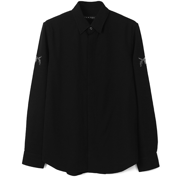 PISTOL SC DRESS SHIRT/BLACK×B.DIAMONDS(18FGS-06B)