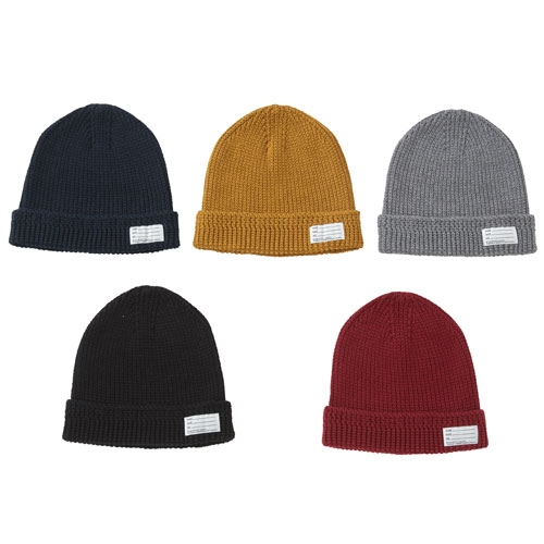 【ポイント10倍】KNIT BEANIE (COTTON)