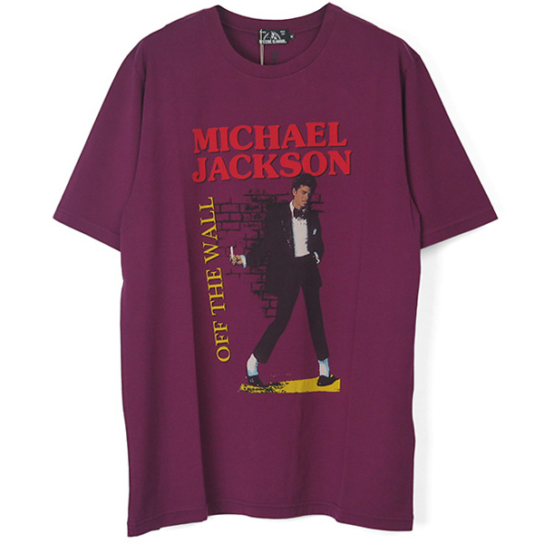 MICHAEL JACKSON/OFF THE WALL pt T-SH/PURPLE