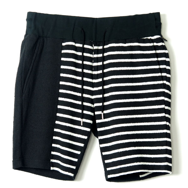 switching short pants/blackBD×black