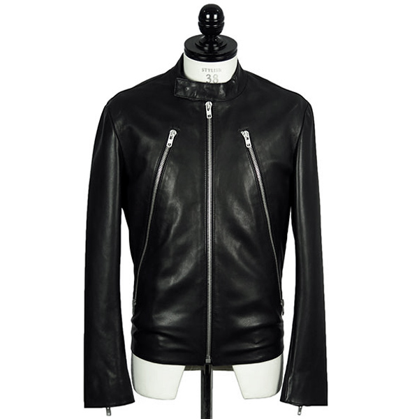 5ZIP LEATHER RIDERS JACKET