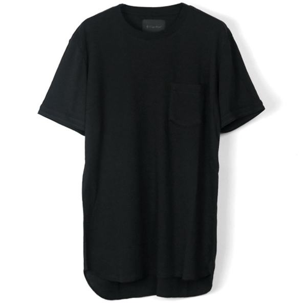 MAHABAR COTTON TEE/BLACK(8774)