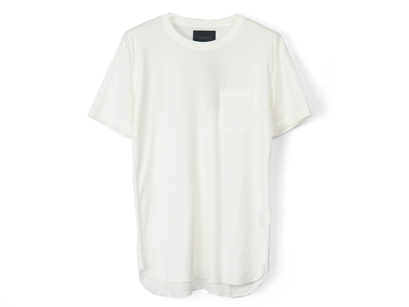 MAHABAR COTTON TEE/WHITE(8774)