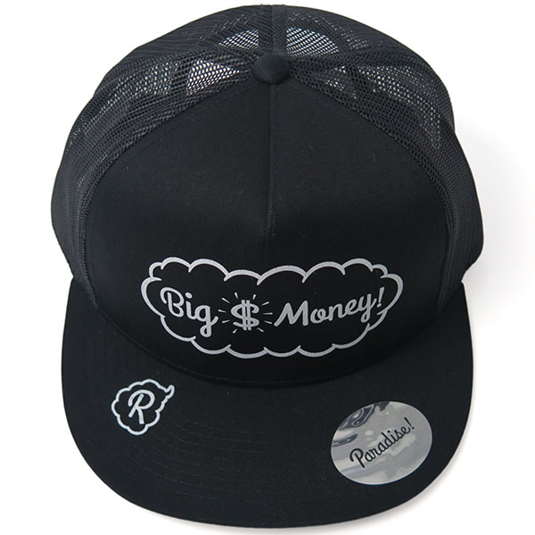 Mesh Cap -Big Money-/black×black