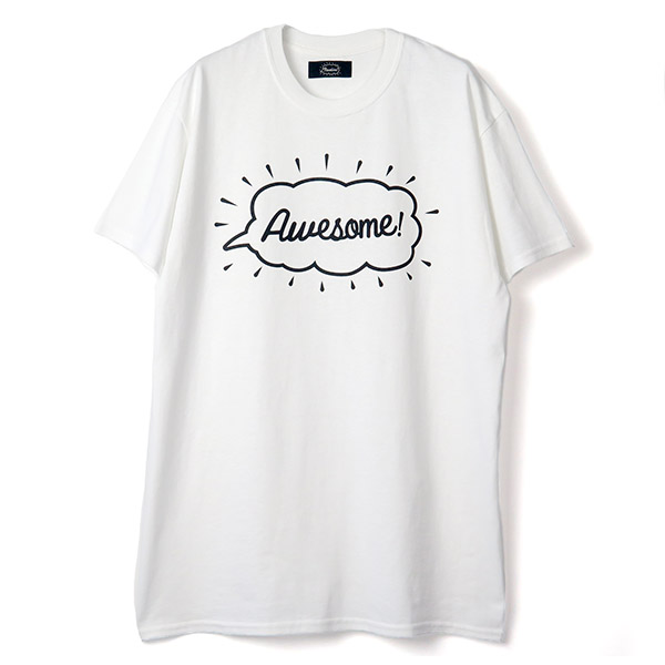 Tee -Awesome-/white