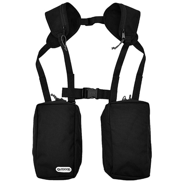 [N.HOOLYWOOD×OUTDOOR PRODUCTS] VEST BAG/BLACK