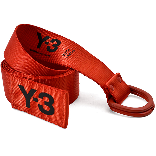 Y-3 LOGO BELT/ORANGE
