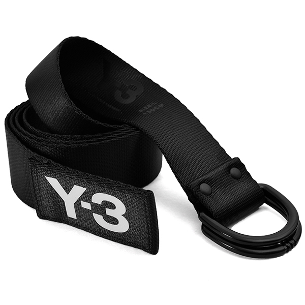 Y-3 LOGO BELT/BLACK