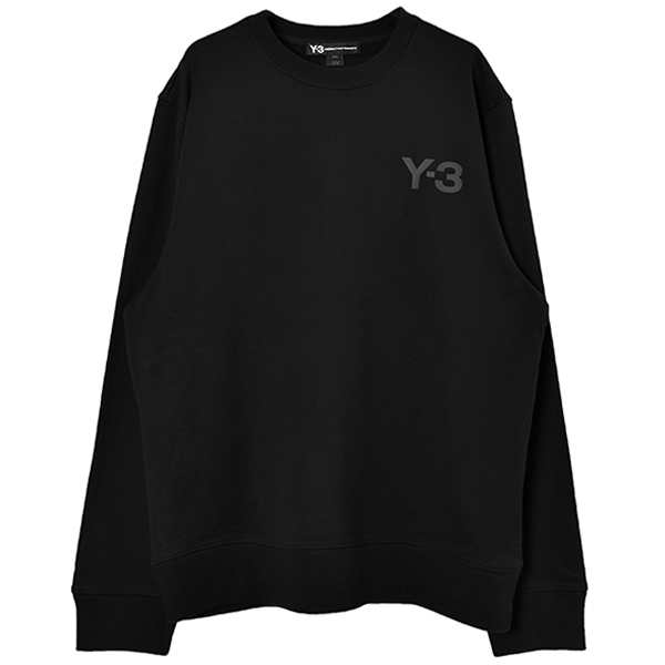 M LOGO CREW SWEATER/BLACK