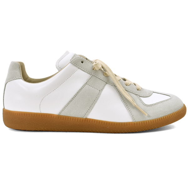GUM SOLE SNEAKERS/WHITE