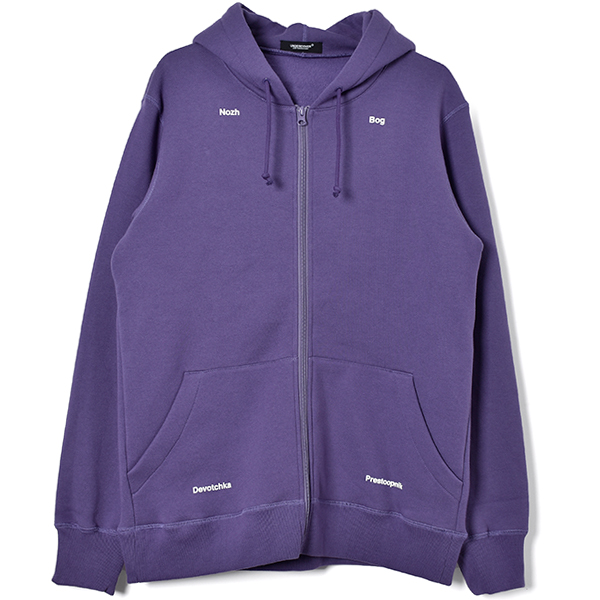 ACO ZIP UP HOODIE /PURPLE