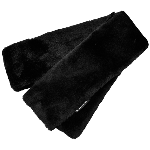 FAKE FUR STOLE/BLACK