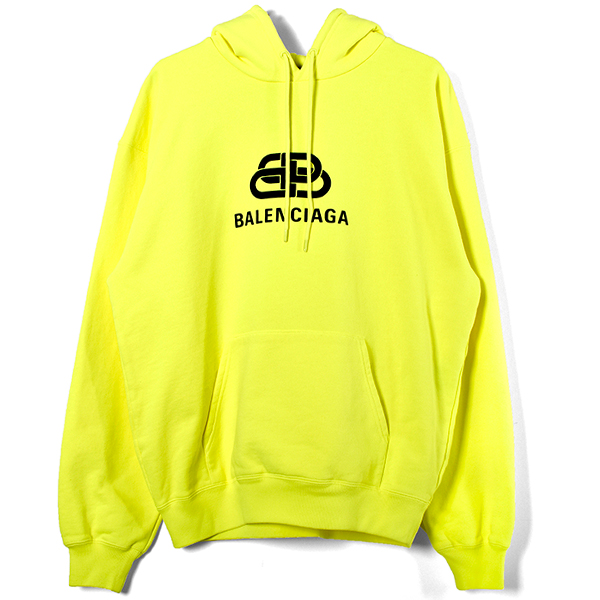 BB LOGO PULLOVER HOODIE/YELLOW