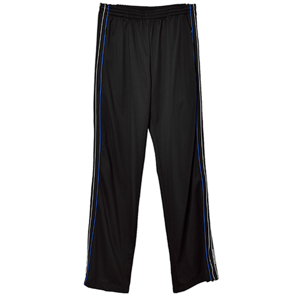 STRIPE TRACK SUIT PANTS/BLACK