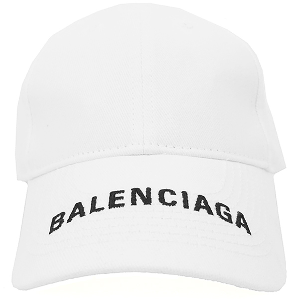HAT BALENCIAGA VISOR CO/WHITE