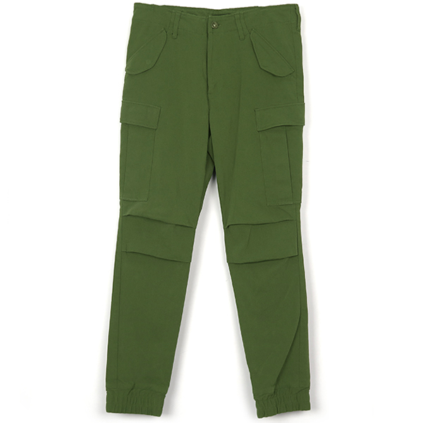 GATHER CARGO PANTS/KHAKI