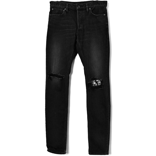 NDV S.Slim STR 5pocket USD/BLACK