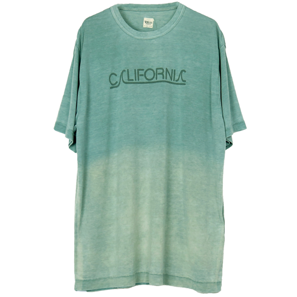 CALIFORNIA GRADATION TEE/GREEN