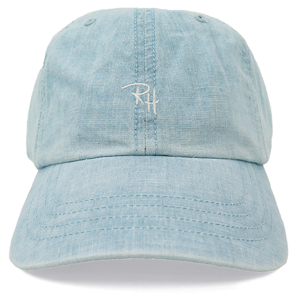 RH CHAMBRAY CAP/LIGHTBLUE