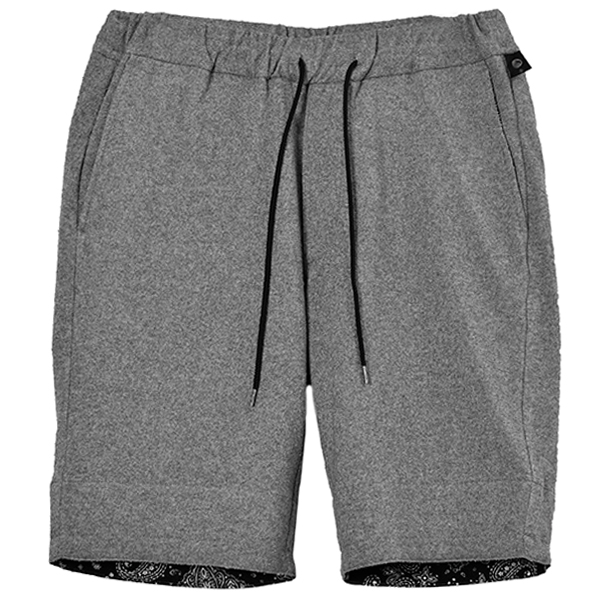 boucle summer shorts/t.gray