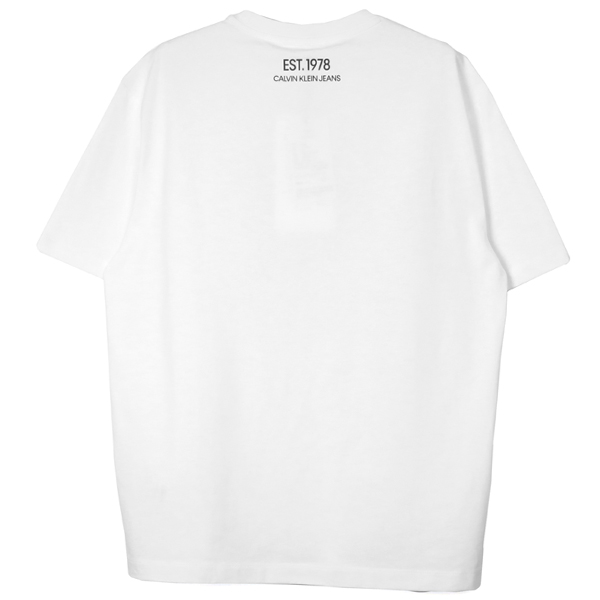 OK LOGO T-SHIRT/WHITE