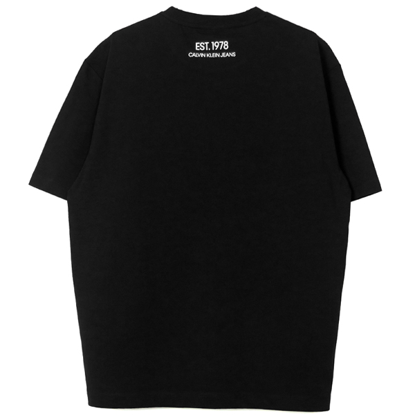 OK LOGO T-SHIRT/BLACK